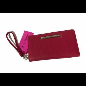 🌸New🌸Betsey Johnson zip around clutch wallet